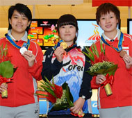 Women's Singles Squad A Top 3