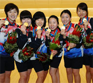 Women's Team Gold