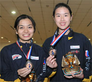 Girl's Doubles Bronze