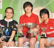 Women's Open Winners
