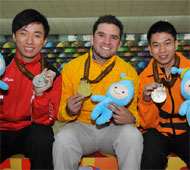 Men's Singles Medalists