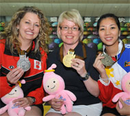 Women's Singles Medalists