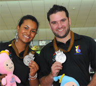 Mixed Doubles Silver